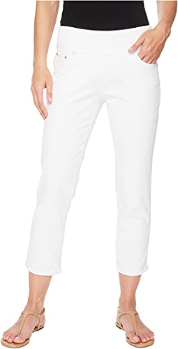 Jag Jeans - Peri Straight Pull-On Twill Crop