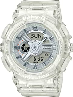 Baby G Women's Automatic Wrist Watch analog-digital Display and Resin Strap, BA110CR-7A