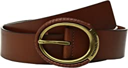 MICHAEL Michael Kors - 38mm Belt w/ Wrapped Buckle