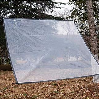 CKSMD Lona Transparente Camping a Prueba de Lluvia a Prueba de Viento a Prueba de Polvo Aislamiento Tienda Espesor 0.12mm,...