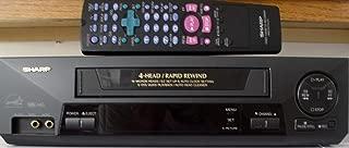 Sharp VC-A593U 4-Head VHS VCR Video Cassette Recorder