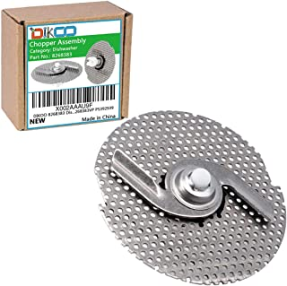 DIKOO 8268383 Dishwasher Chopper Assembly Blade for Inglis, Whirlpool, Kenmore, Kitchenaid Dishwasheres Repalce 830886 EA392939 WP8268383VP PS392939