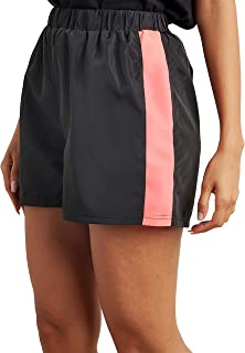 Side Striped Detail Track Shorts 80389826 For Women Closet by Styli