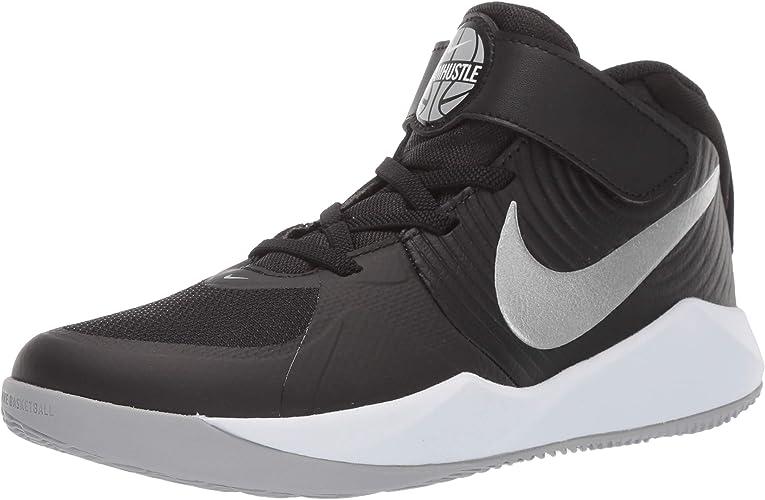 Nike Team Hustle D 9 (PS), Chaussures de Basketball Mixte Enfant