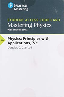 Mastering Physics with Pearson eText -- ValuePack Access Card -- for Physics: Principles with Applications (7th Edition)