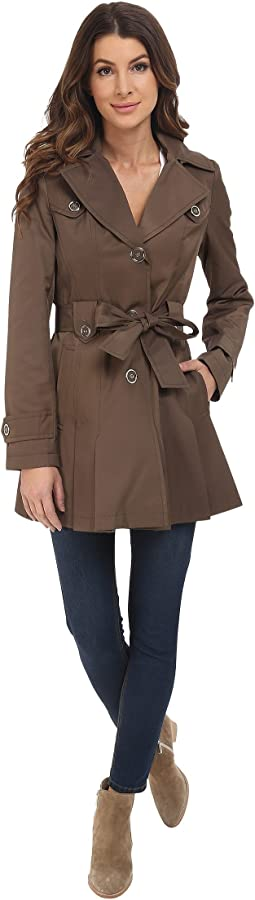 Single Breasted Belted Coat