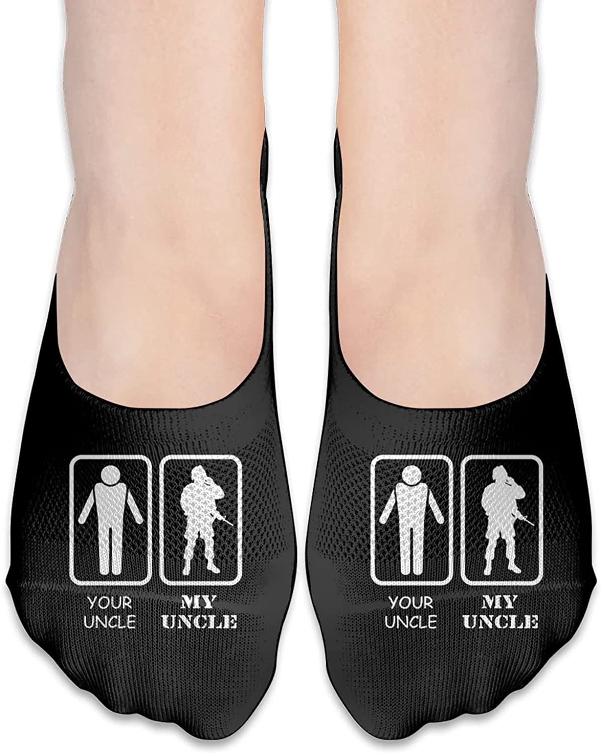 Your Uncle My Uncle Military Army Marine Uncle Men'S Woman'S No Show Socks Breathable Ankle Socks Invisible Liner Socks For Unisex