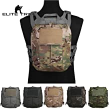 Tactical Pouch Zip-ON Panel for Vest Plate Carrier AVS JPC2.0 CPC Gear