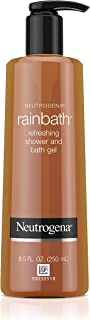 Neutrogena Rainbath Refreshing and Cleansing Shower and Bath Gel, Moisturizing Body Wash and Shaving Gel with Clean Rinsing Lather, Original Scent, 8.5 fl. oz (Pack of 2)