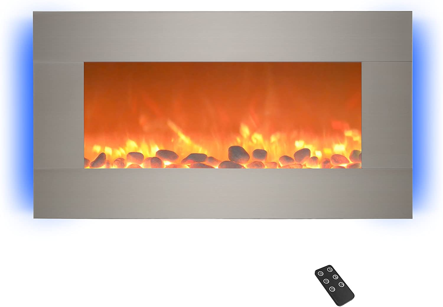 Northwest 80-BL31-2002 67% OFF of fixed price Luxury Electric Fireplace-Wall with B Mounted 13