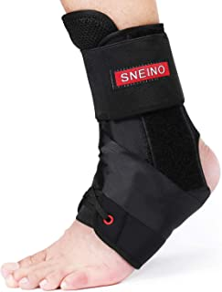 Ankle Brace for Women and Men - Lace Up Adjustable Support,Volleyball Ankle Braces,Basketball ankle brace,Ankle Support,Ankle brace for sprained ankle,Ankle Brace Stabilizer (Medium)