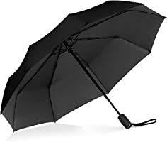 Repel Windproof Travel Umbrella with Teflon Coating