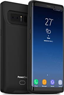 PowerBear Samsung Note 8 Battery Case [4500 mAh] Up to 130% More Battery