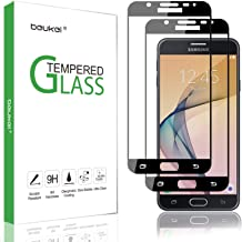 (2 Pack) Beukei for Samsung Galaxy J7 Prime 2 2018 / Galaxy J7 Prime Tempered Glass Screen Protector, Glass with 9H Hardness,with Lifetime Replacement Warranty
