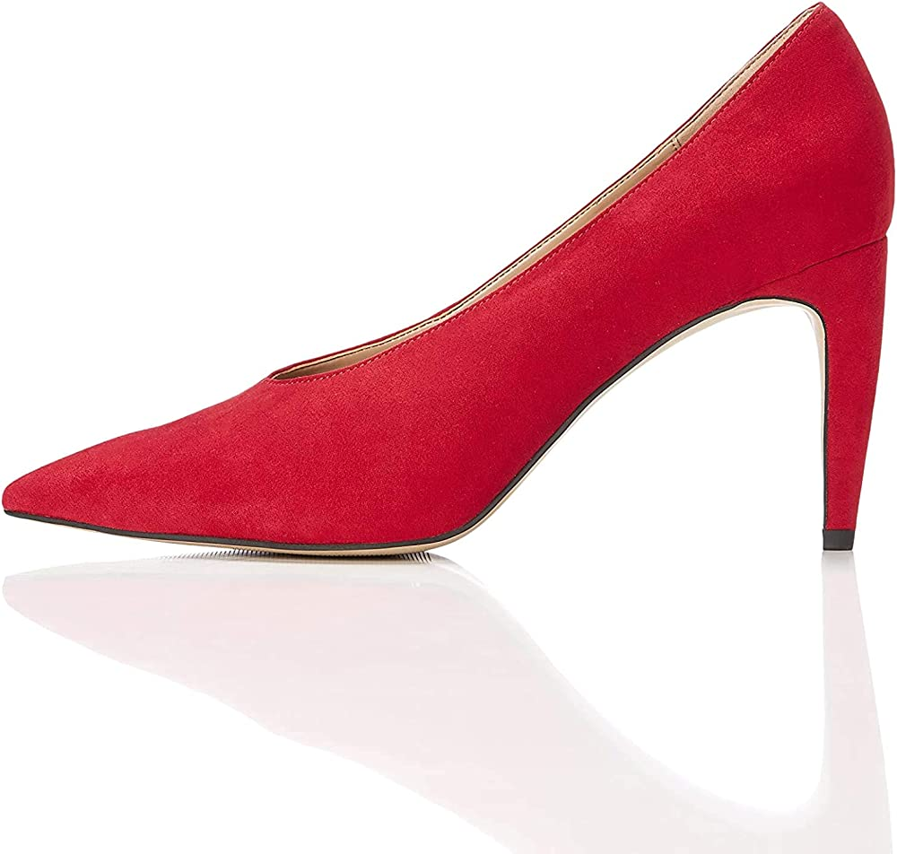 Find , décolleté , scarpe con il tacco a spillo per donna  , in tela 121078