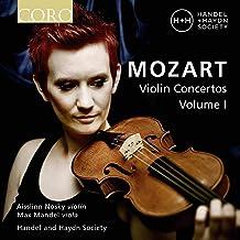 Mozart: Violin Concertos 1 [Aisslinn Nosky; Max Mandel; Handel & Haydn Society] [Coro: COR16183]