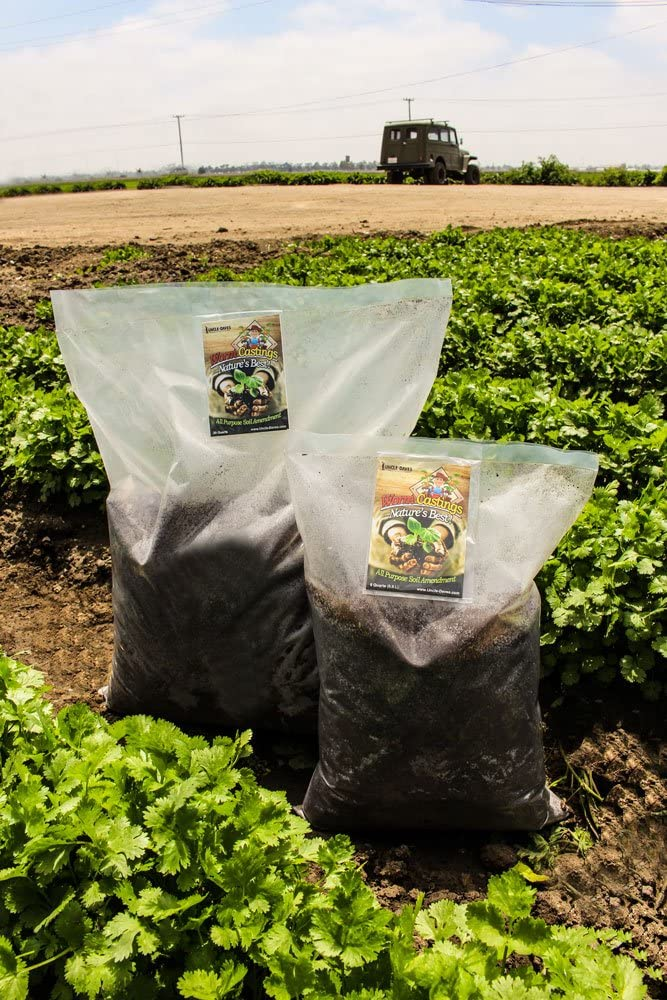 Earthworm Castings 10 Max 71% OFF Pounds - for Amendment Natures Soil Indoor High quality