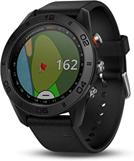Garmin Approach S60 - Reloj de Golf con Correa de Silicon, GPS, color Negro