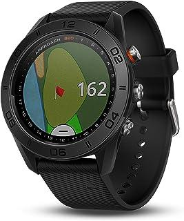 Garmin Approach S60 - Reloj de Golf  con Correa de Silicon, GPS, color Negro