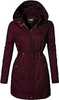 Women's Versatile Utilitarian Warm Anorak Drawstring Parka Jacket