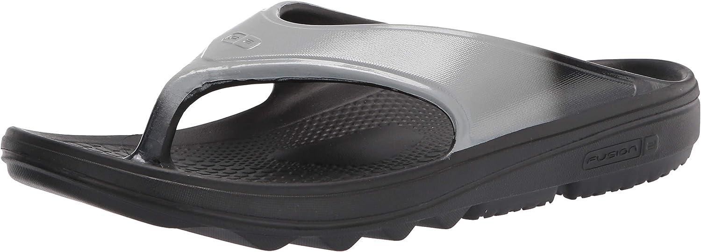 Spenco Men's Flip-Flop, Grey, 9