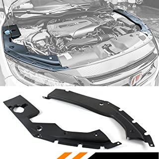 Fits for 2016-2019 10th Gen Honda Civic Engine Bay Side Panel Covers Pair - Long Version