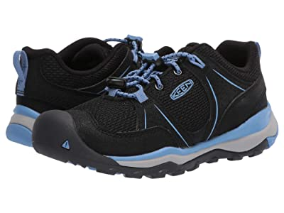 Keen Kids Terradora II Sport (Little Kid/Big Kid) (Black/Della Blue) Girl