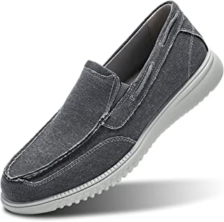 Men's Boat Shoes Slip on Walking Loafers