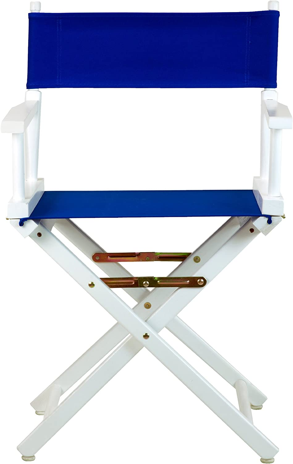 Casual Home 18-Inch Director Chair White Frame, Royal bluee Canvas