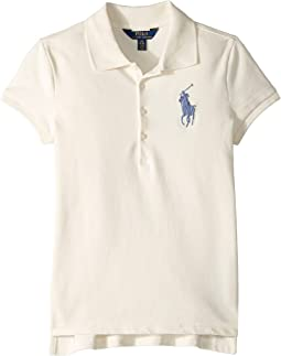 Big Pony Stretch Mesh Polo (Little Kids/Big Kids)