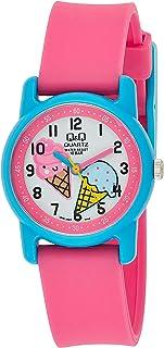 Q&Q Unisex-Child Quartz Watch, Analog Display and Resin Strap VR41J007Y