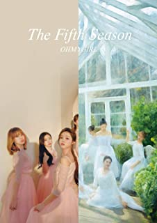 オーマイガール - The Fifth Season [DRAWING+PHOTOGRAPHY COVER ver. SET] (Vol.1) 2CD+2Photobooks+2Concept Photocards+2Selfie Photocards+2Angel Photocards+2Museum Tickets+2POP-UP Cards+2Folded Posters [韓国盤]