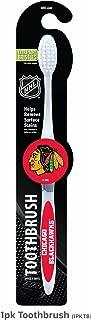 Worthy Promotional Chicago Blackhawks NHL-CHI-1PKTB Toothbrush w/Extra-Soft Bristles