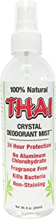 THAI Natural Crystal Deodorant Mist Spray (8 Fluid Ounces)