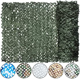 Yeacool Camouflage Netting, Military Sunscreen Nets Lightweight Camo Net Great for Hunting Blind Sunshade Camping Shooting Concealment Canopy Party Decoration Photograph