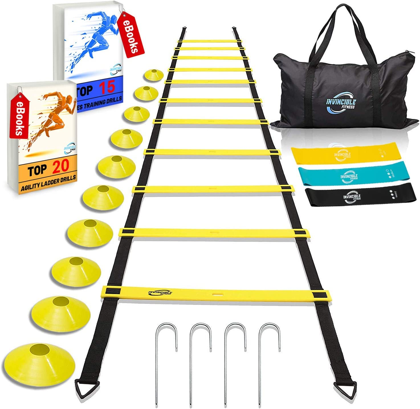 Invincible Sales Fitness Agility 2021 new Ladder Equipment Training Set Improv