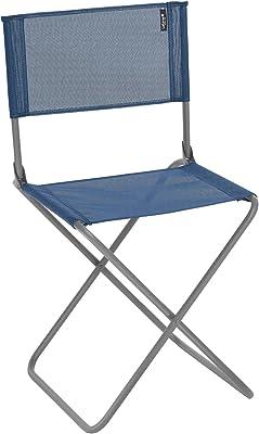 Lafuma Camping Chair, steel tubing, coated, 16mm grey basalt, Océan, 43x45x80 cm
