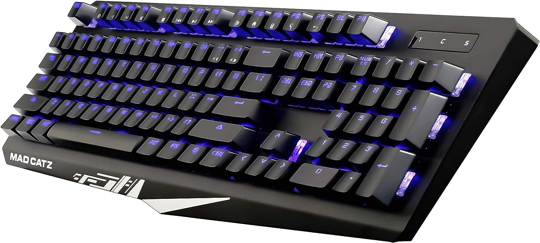 Mad Catz S.T.R.I.K.E. 4 Teclado mecánico RGB para juegos ...