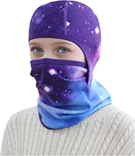 Kids Winter Balaclava Ski Mask,Warm Wimterproof Hood...