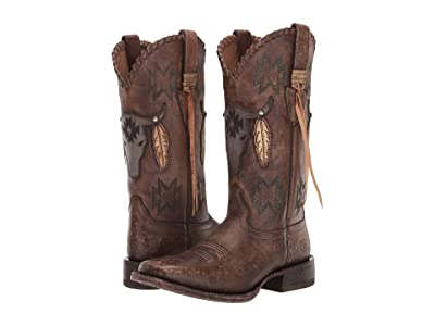 Ariat Tallahassee (Naturally Distressed Brown) Cowboy Boots
