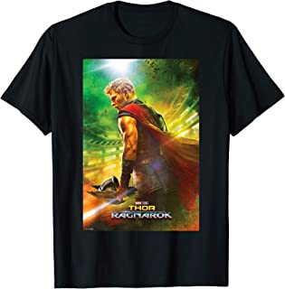 Marvel Thor Ragnarok Gladiator Film Poster T-Shirt
