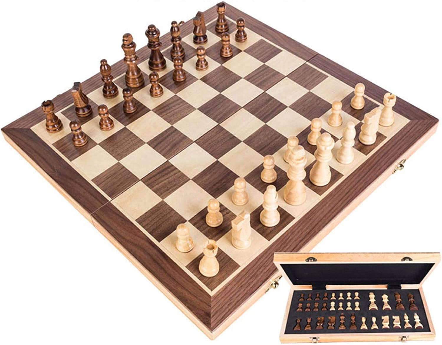 MAGRF Chess Set, Board Set Surprise price Set,Magnetic Wooden Popular products I