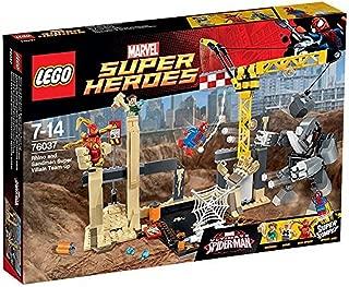 LEGO 76037 Super Heroes Rhino and Sandman Super Villain Team-Up
