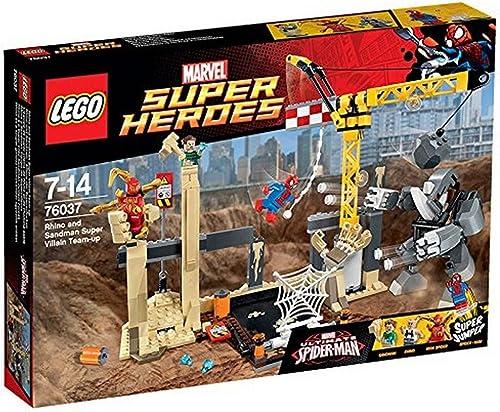 LEGO Marvel Super Heroes 76037 - Rhino und Sandman, Allianz der Superschurken