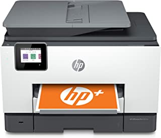 HP OfficeJet Pro 9025e All-in-One Wireless Color Printer for home office, with bonus 6 months free Instant Ink with HP+(1G...