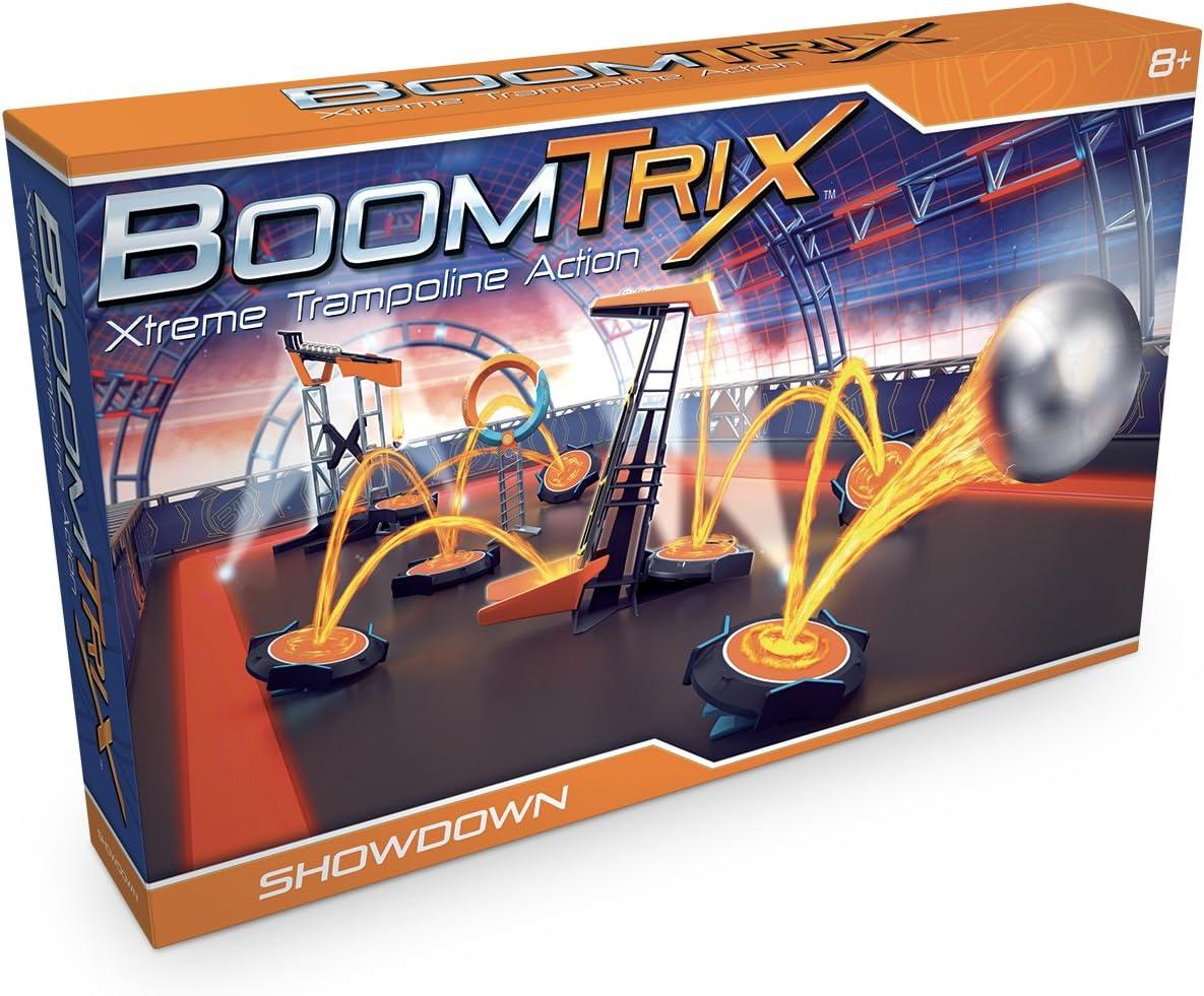 Goliath- Boomtrix: set de exhibición - juego de canicas profesional, Color naranja/azul (80603) , color/modelo surtido