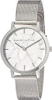 Christian Paul Women MWS3520 Year-Round Analog Quartz Silver Watch