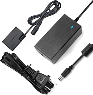 F1TP ACK-E18 AC Power Supply Adapter LP-E17 Dummy Battery (DR-E18 DC Coupler) Kit for Canon EOS Rebel T6i T7i T8i SL2 SL3 77D 200D 250D 750D 760D 800D D850 Kiss X8i X9i X10i 8000D 9000D RP Cameras.