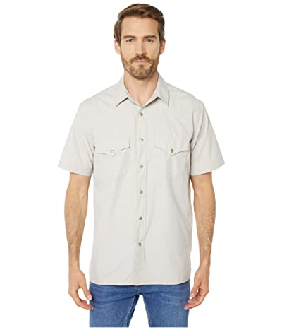 Filson Short Sleeve Snap Front Shirt (Sandstone) Men