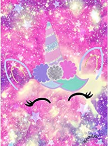 DIY 5D Diamond Painting by Number Kit for Adults, Full Drill Crystal Colorful Unicorn Diamond Painting for Home Wall Décor 11.8 x 15.7 inch